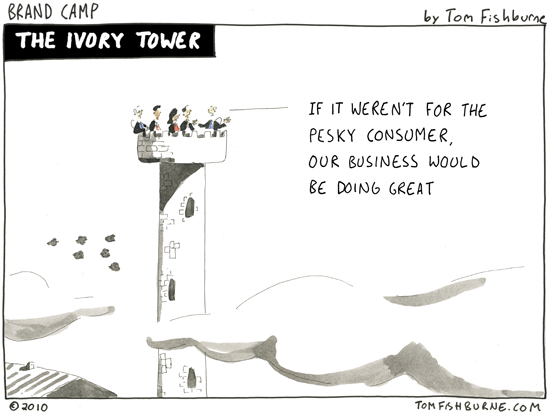 The Ivory Tower Marketoonist Tom Fishburne