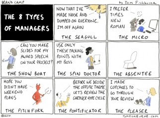 the 8 types of managers