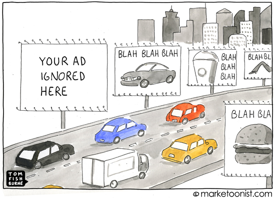 """your ad here"" cartoon"