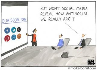 """our social plan"" cartoon"
