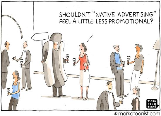 """native advertising"" cartoon"