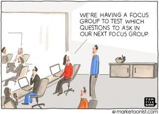 """Focus Group"" cartoon"