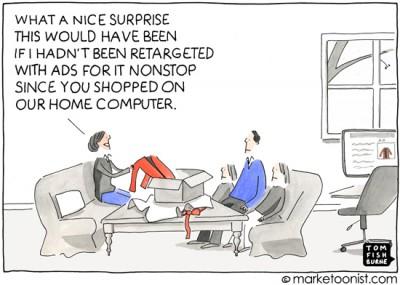 """Ad Retargeting"" cartoon"