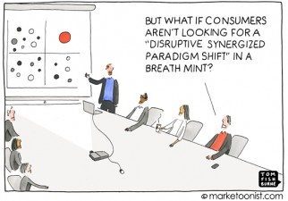 """Innovation Strategery"" cartoon"