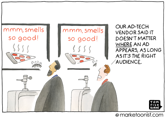 """Programmatic Advertising"" cartoon"