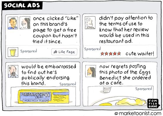 """social ads"" cartoon"