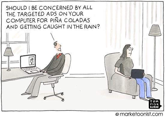 """Inferring Consumer Behavior"" cartoon"