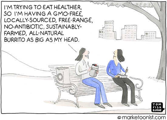 """health food"" cartoon"