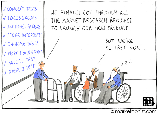 Market Research Cartoon  Marketoonist  Tom Fishburne
