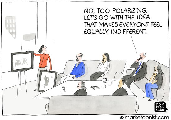 """Polarize"" cartoon"