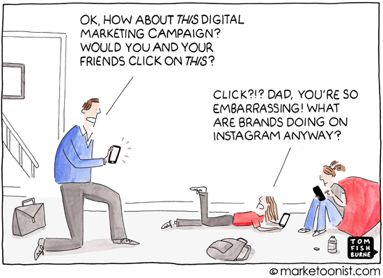 """Instagram"" cartoon"