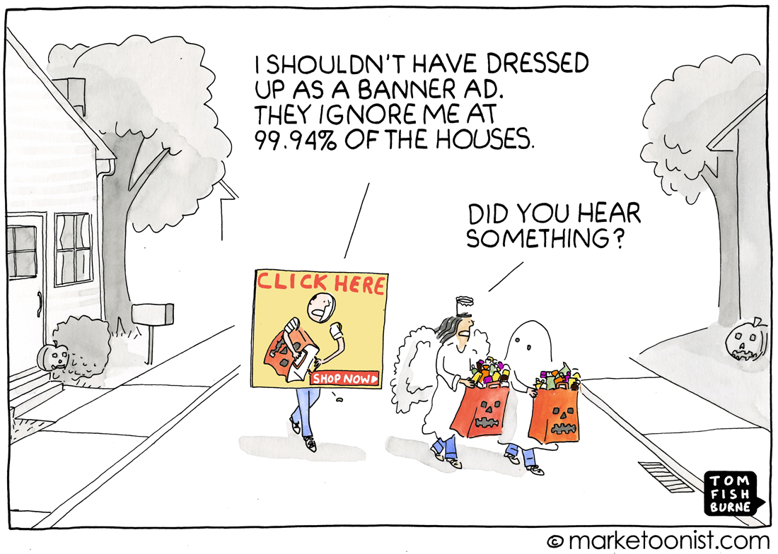 banner ad cartoon
