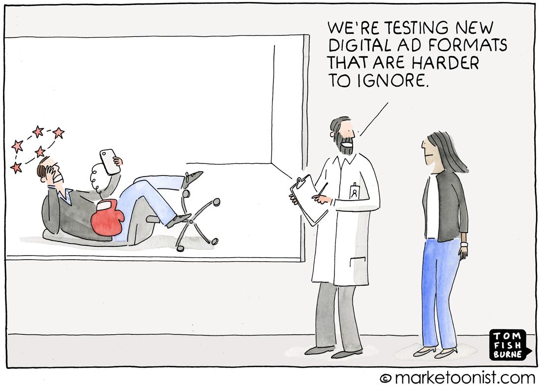 The Future of Digital Advertising cartoon | Marketoonist ...