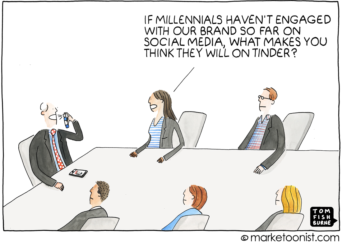 Tom Fishburne Millennials