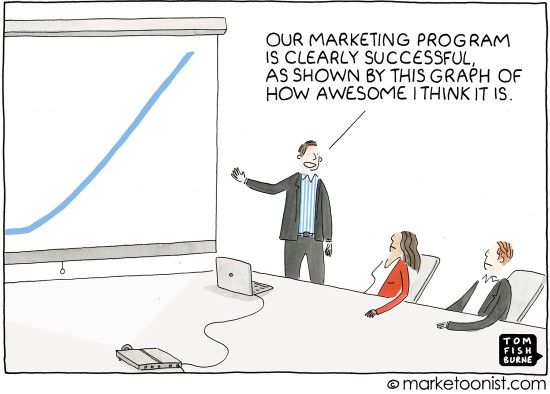 Marketing Vanity Metrics cartoon   Marketoonist   Tom Fishburne