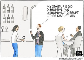 Disruptive Innovation cartoon