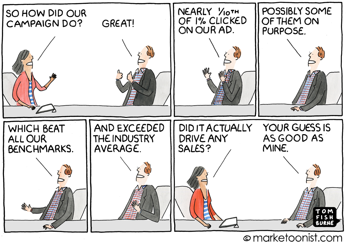 Ad Metrics cartoon
