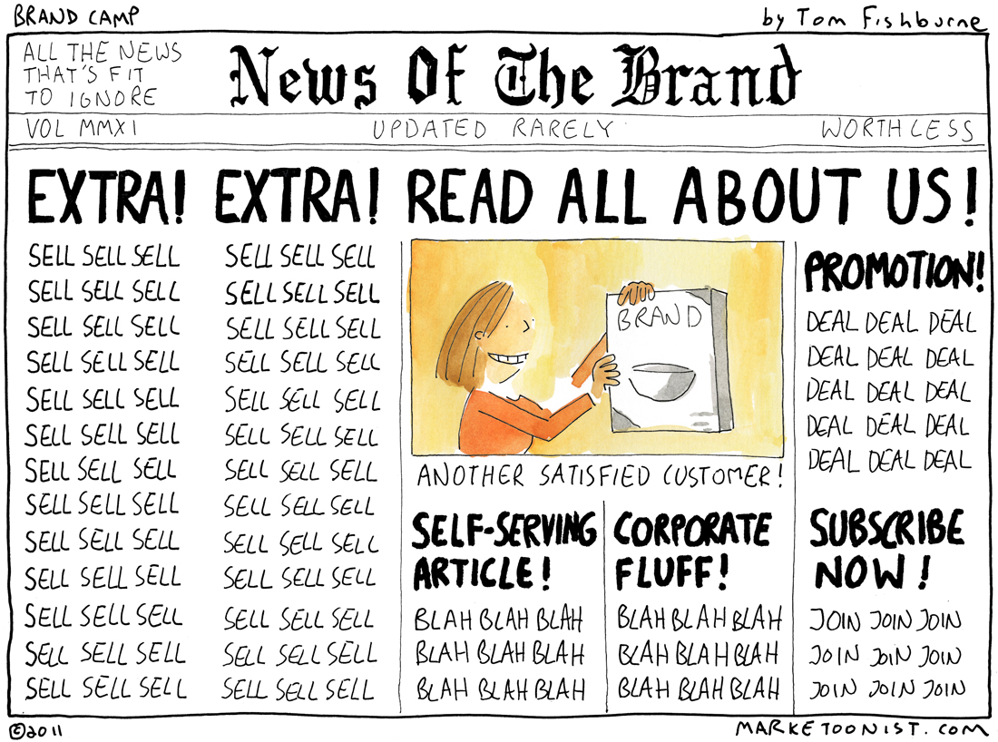 Brand News cartoon