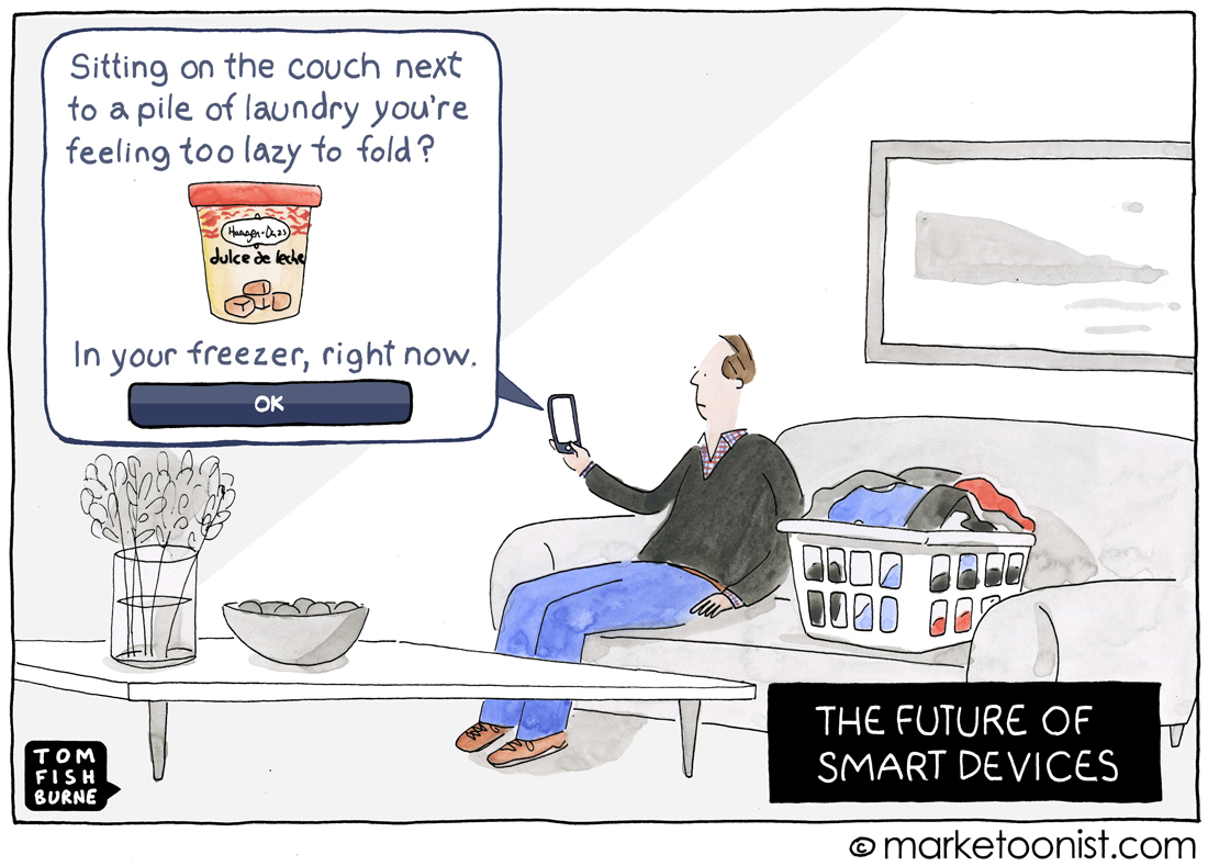 Smart Devices cartoon