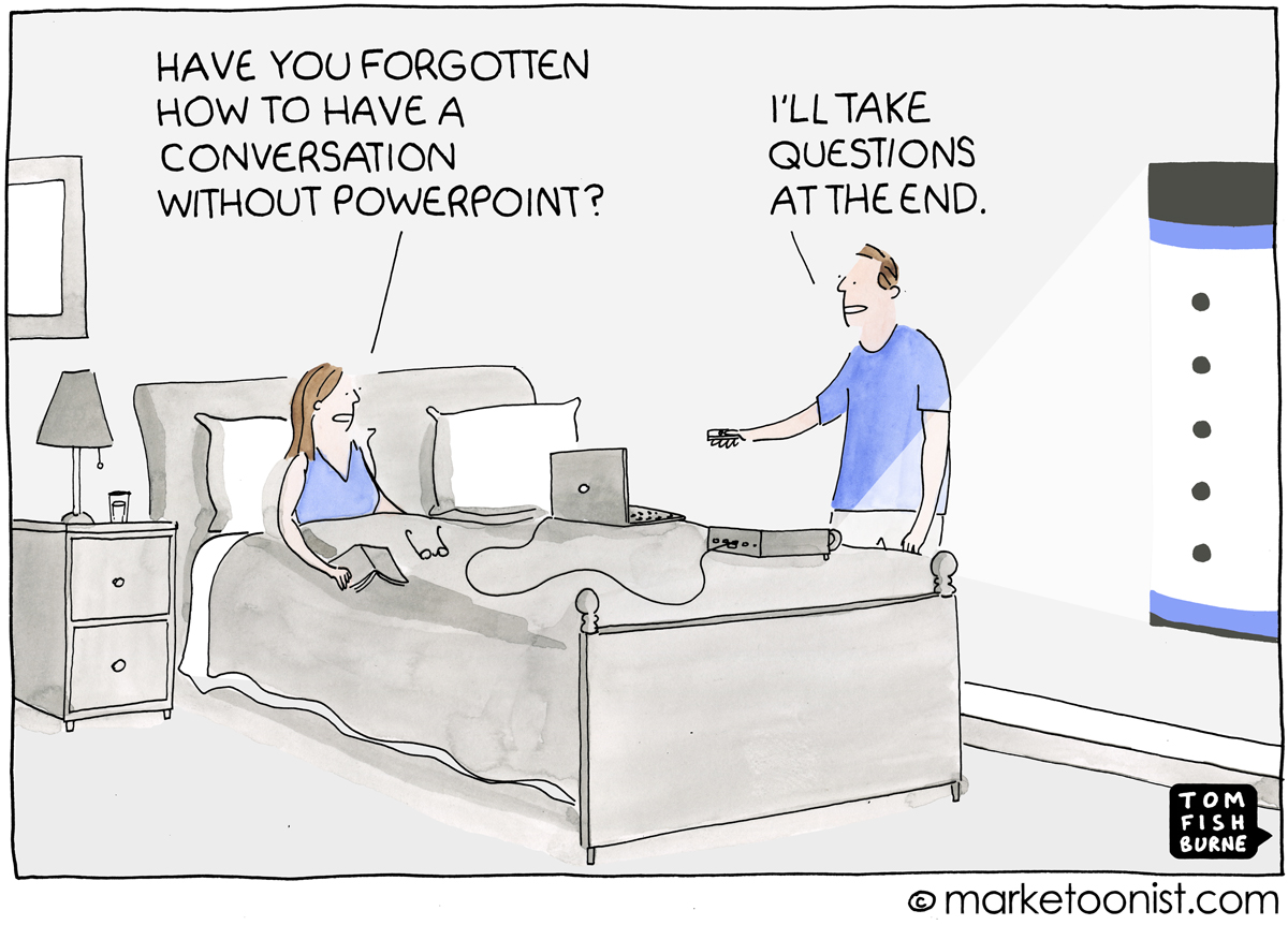 Powerpointitis Cartoon