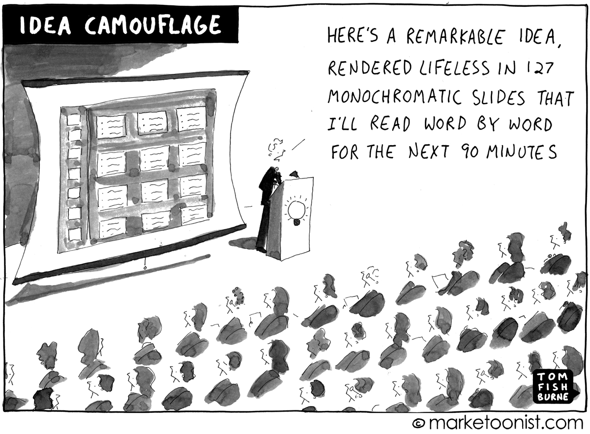PowerPoint cartoon