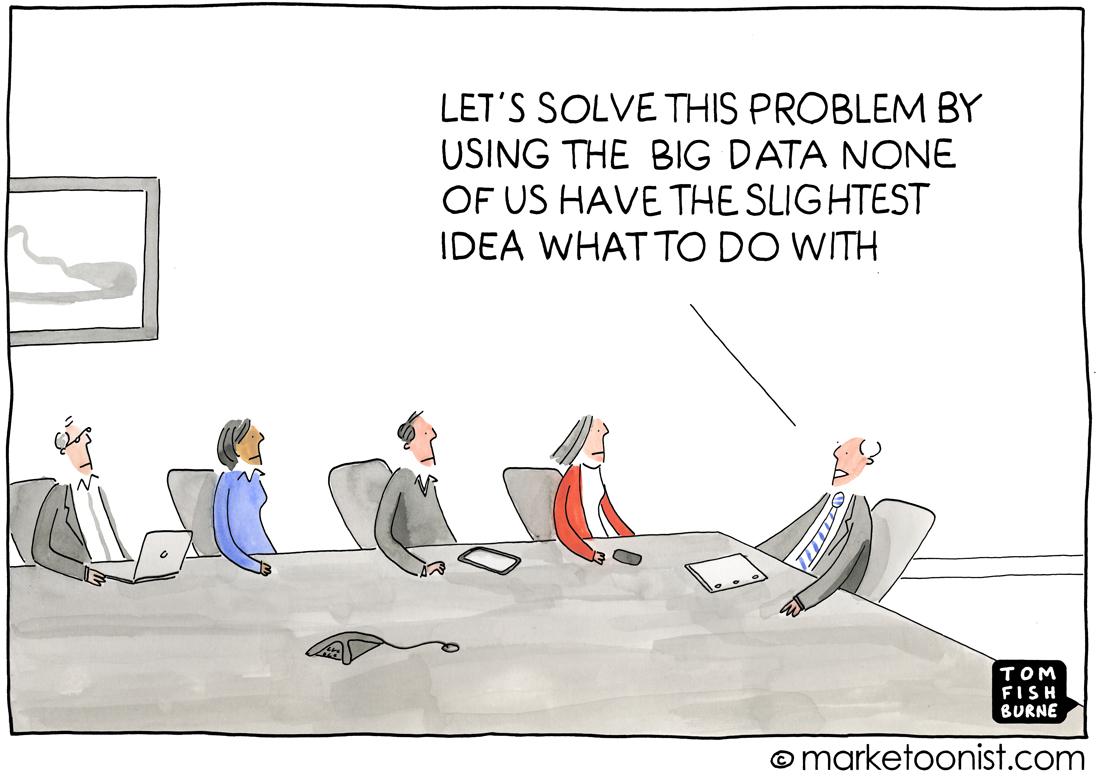 big data promises cartoon marketoonist tom fishburne