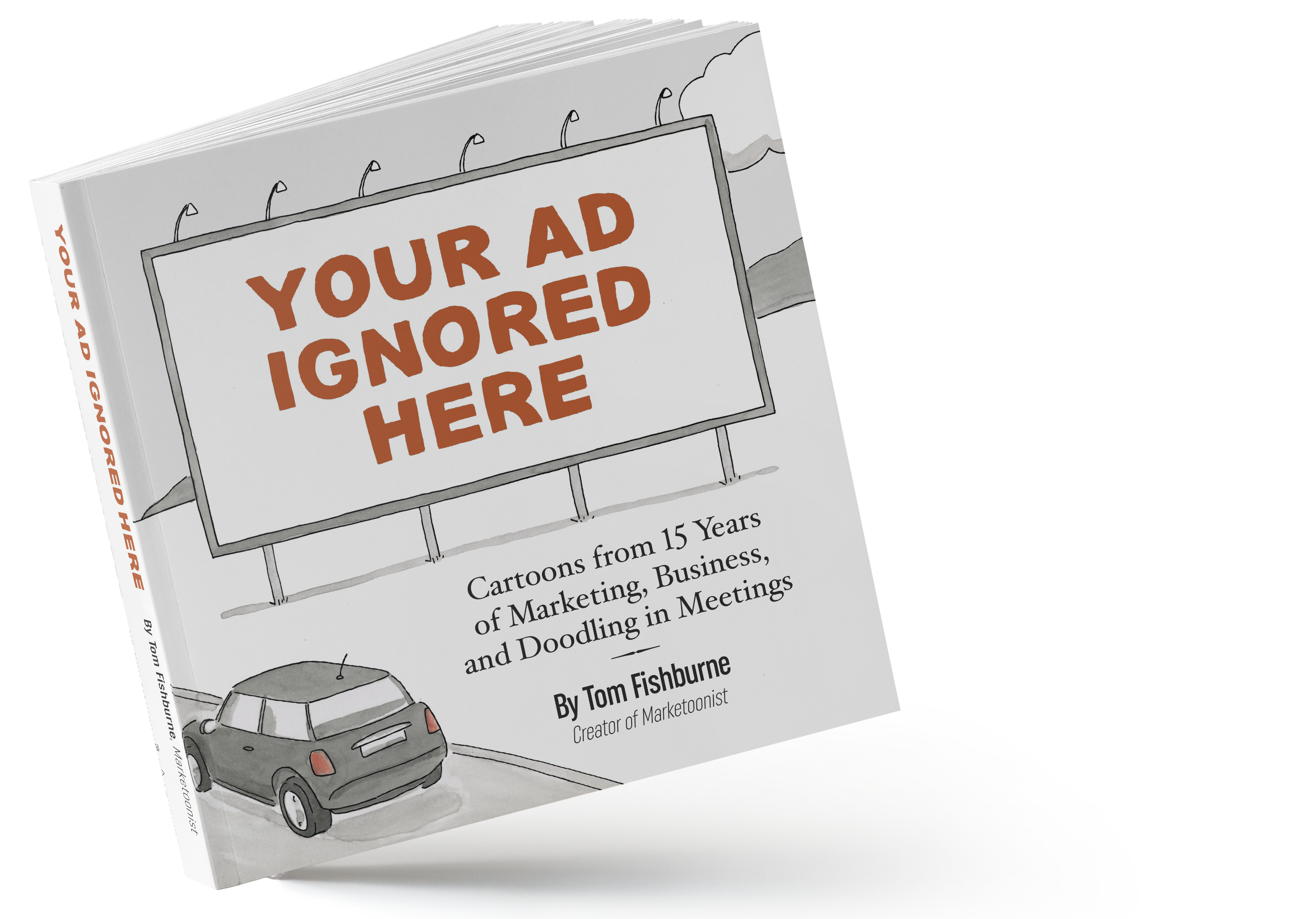 Your Ad Ignored Here Book Image