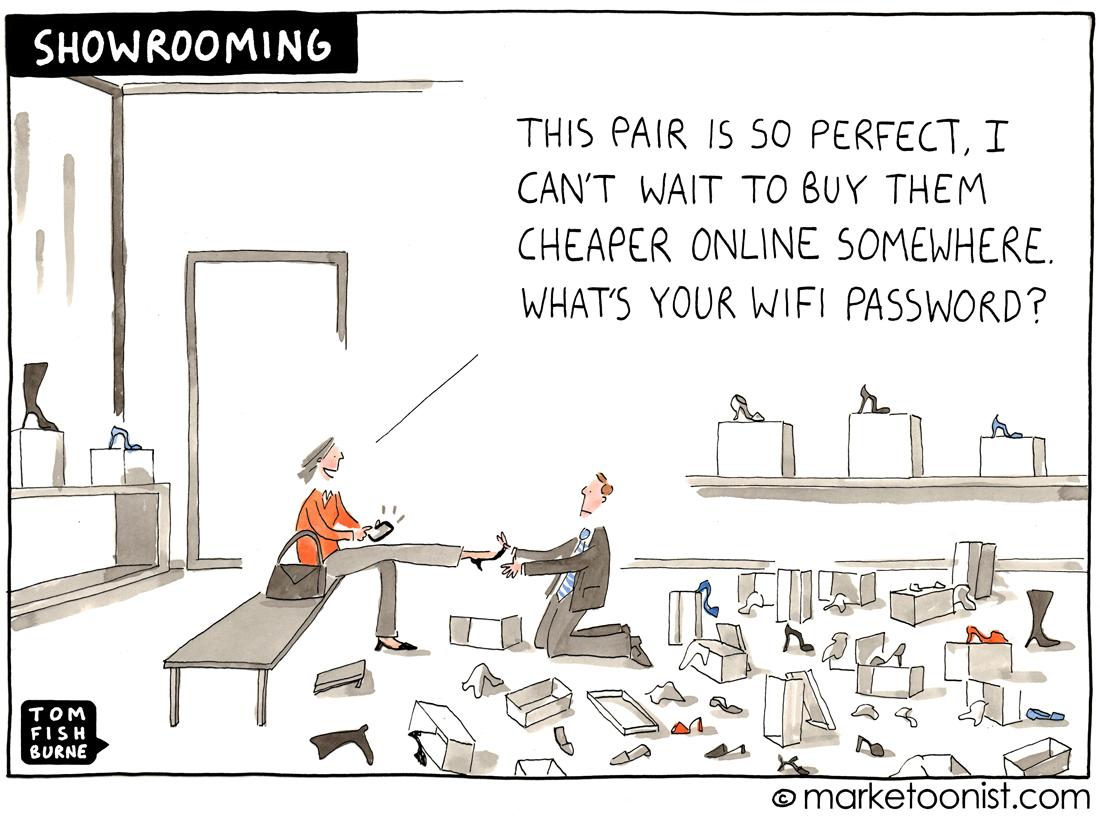 The State of E-commerce cartoon | Marketoonist | Tom Fishburne