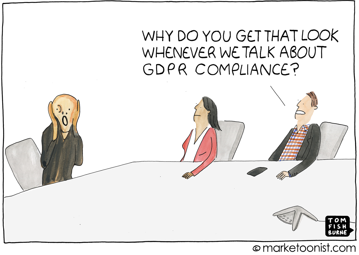 marketing data and GDPR compliance