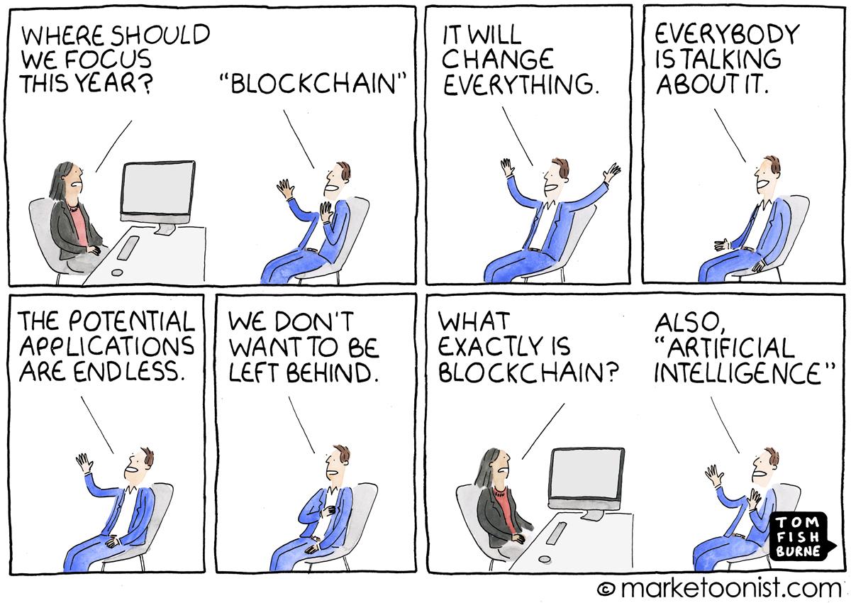 Blockchain buzzword
