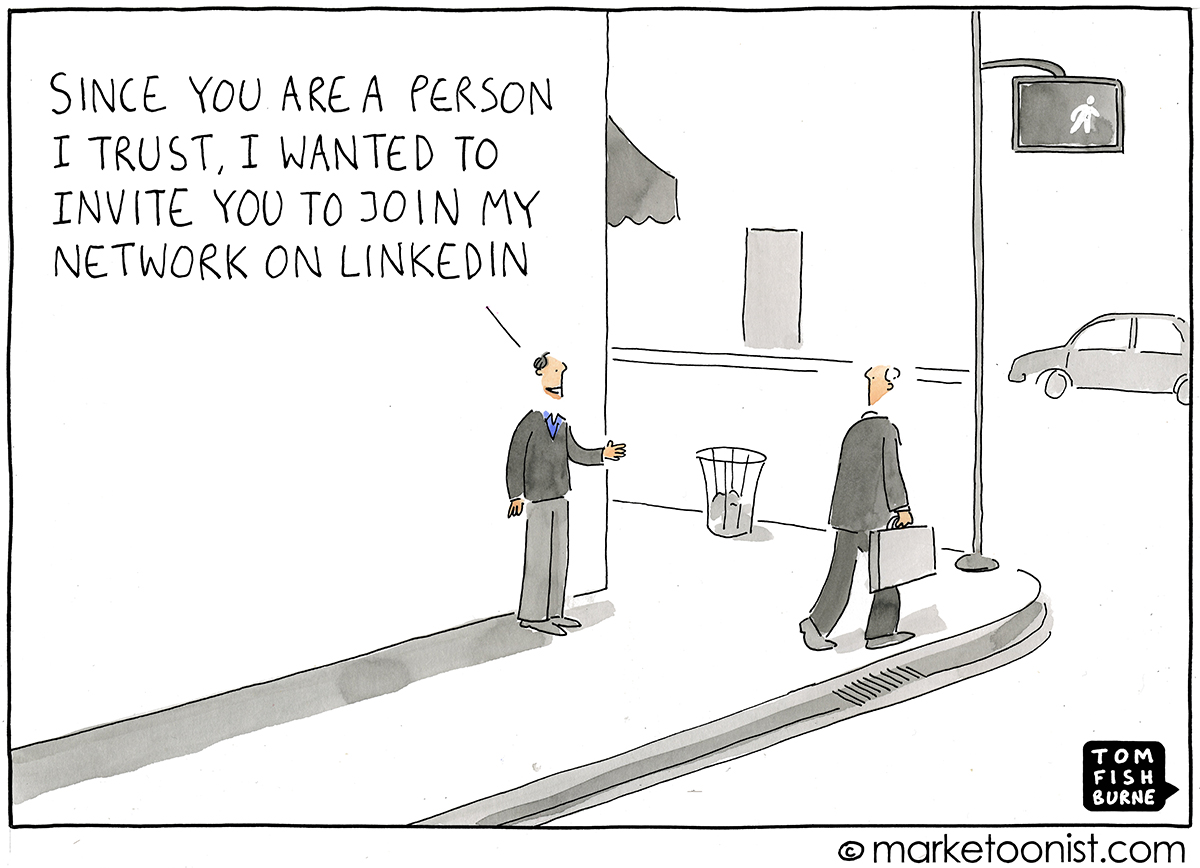 Personal Branding cartoon | Marketoonist | Tom Fishburne