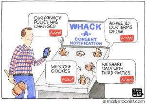 GDPR Consent Fatigue cartoon