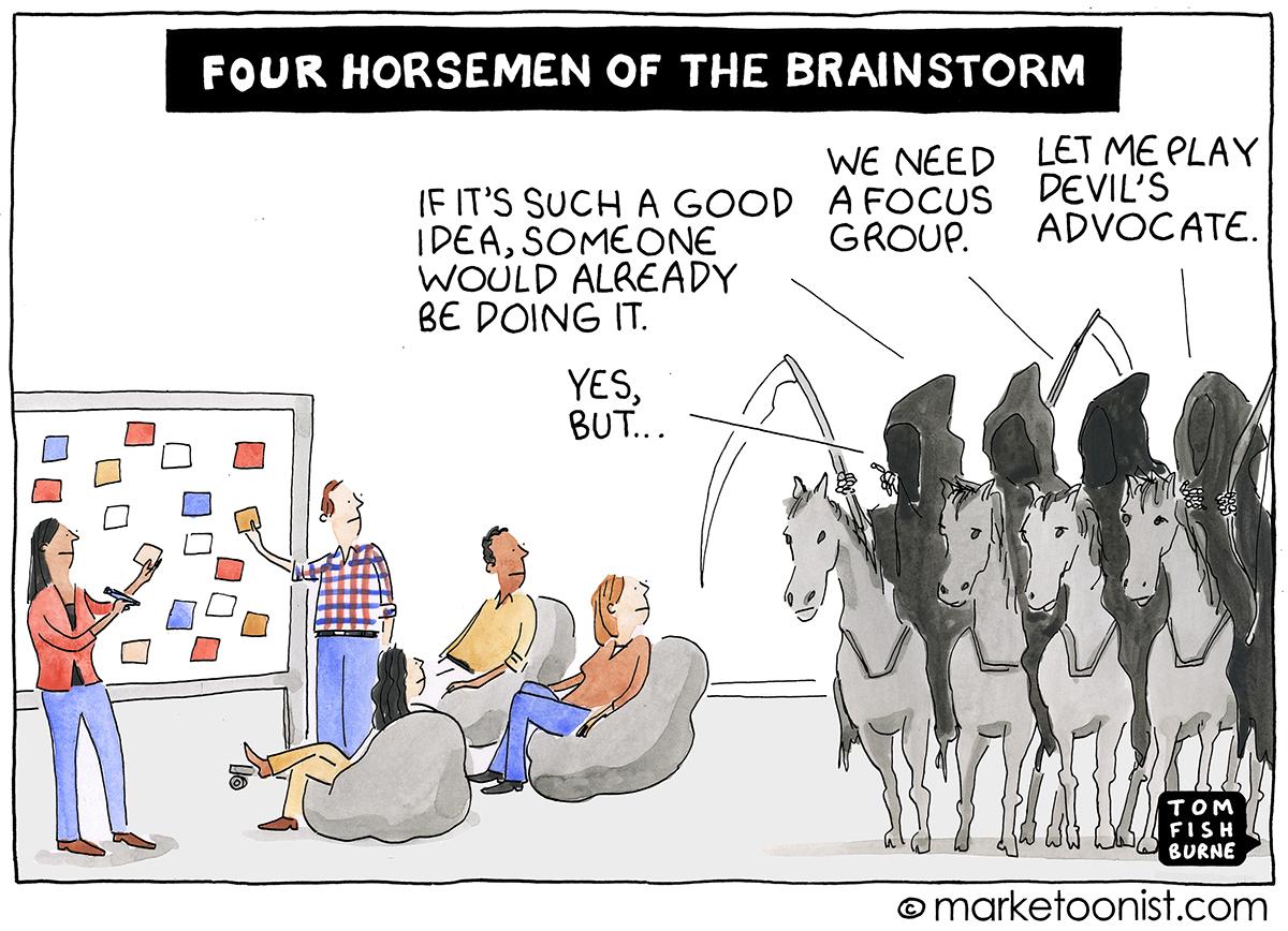 four horsemen of the brainstorm