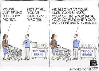 Brand Trust cartoon