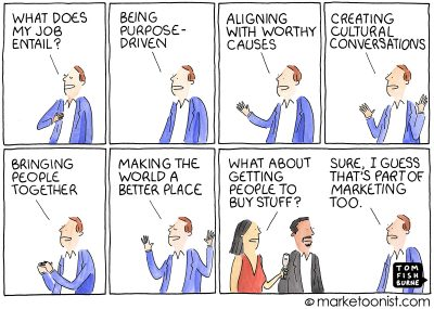Peak Brand Purpose cartoon