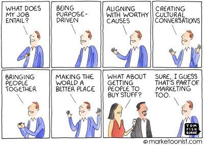 Peak Brand Purpose cartoon