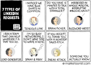 LinkedIn Requests