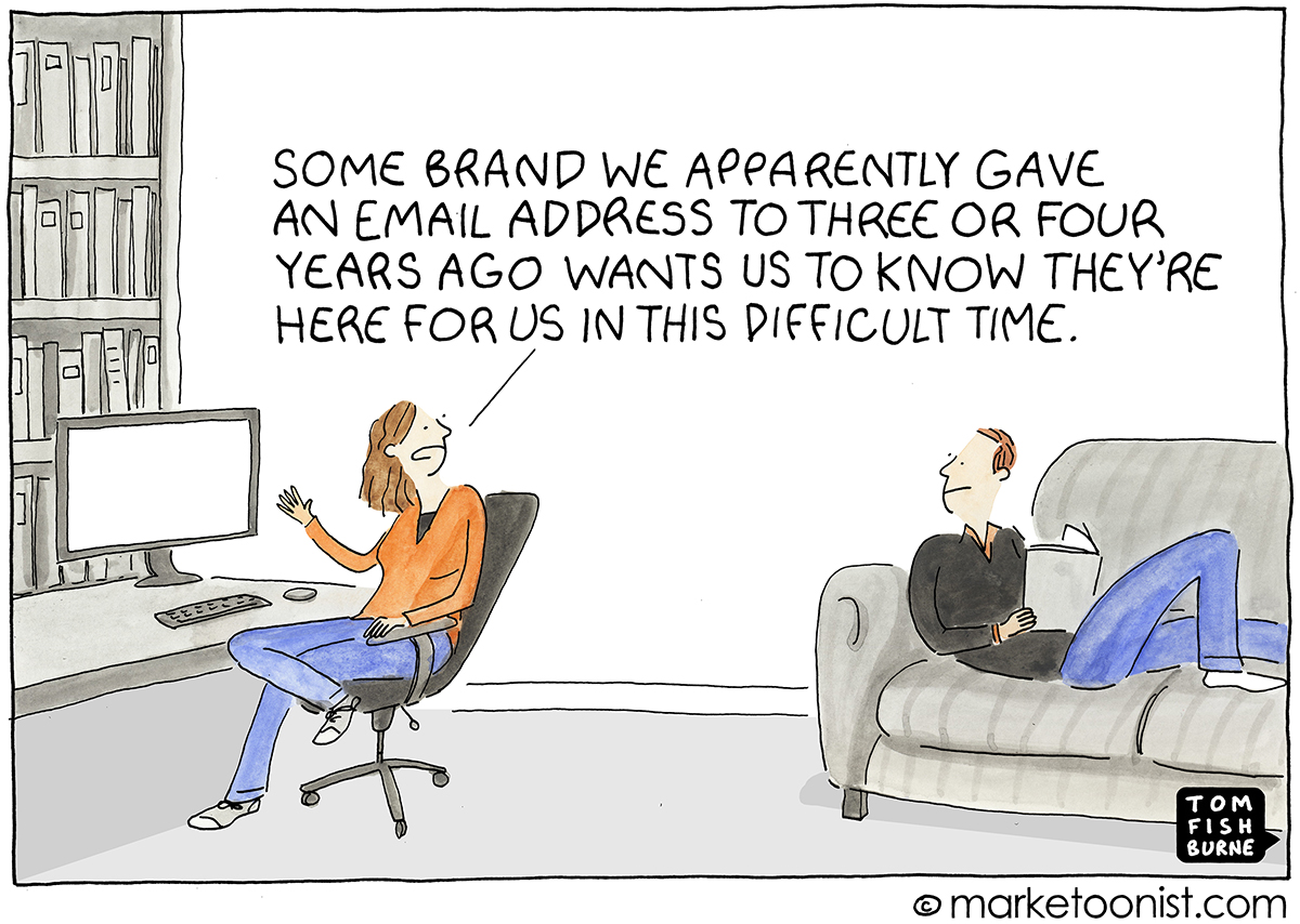 How Not To Communicate cartoon