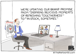 Brand Promise cartoon