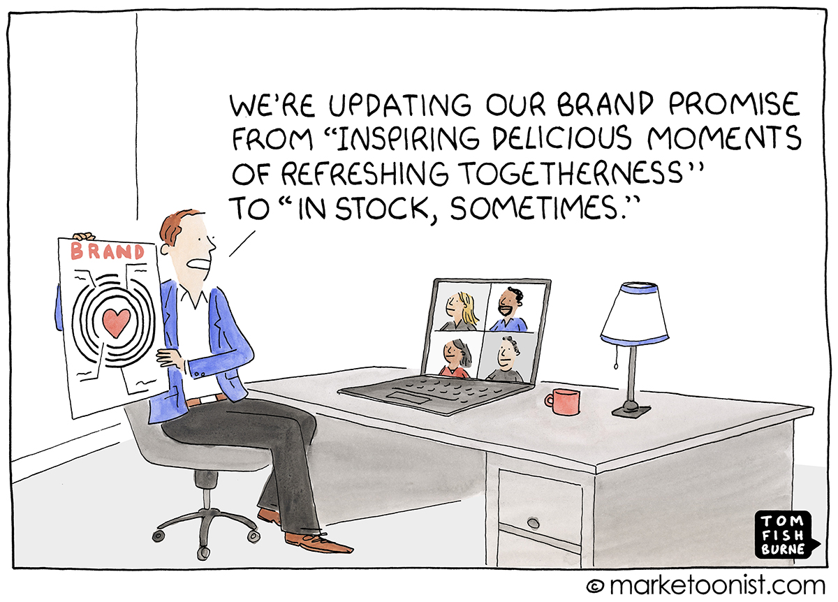 Brand Promise cartoon