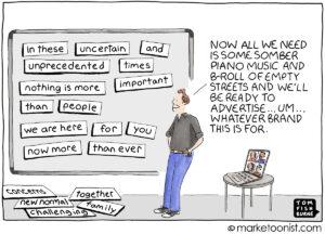 Generic Advertising cartoon