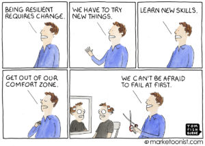Resilience and Change cartoon