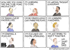 The Productivity Trap cartoon