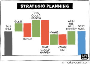 Strategic Planning cartoon