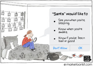 Consumer Privacy cartoon