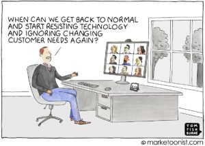 Back to Normal cartoon