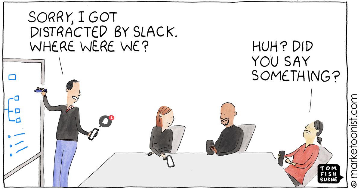 Productively Unproductive cartoon